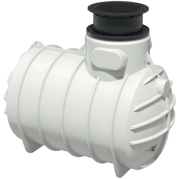 AQa.Line Trinkwasser-Erdtank 3400L inkl. Abdeckung