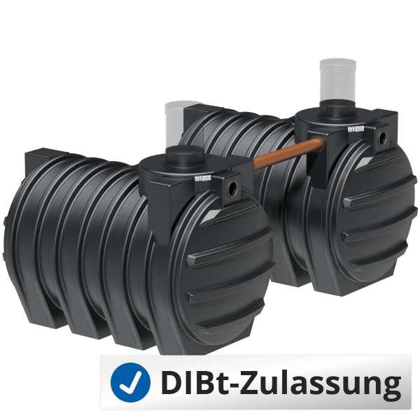 Abwassersammelgrube AQa.Line 6000 L (mit DIBt-Zulassung) – grundwasserstabil
