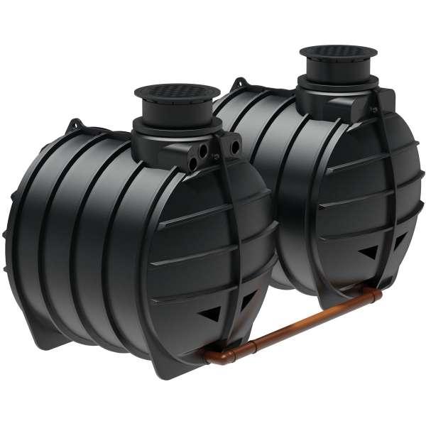 AQa.Line Zisterne 12.000 L inkl. Abdeckung