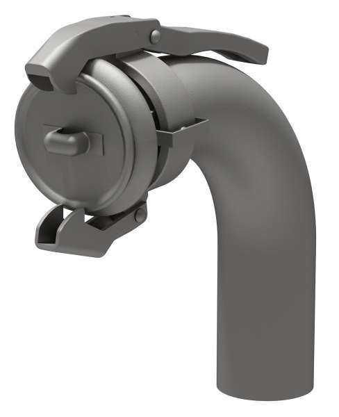 Saugbogen 90° - Anschluss für die Absaugvorrichtung zur Entleerung von Sammelgruben
