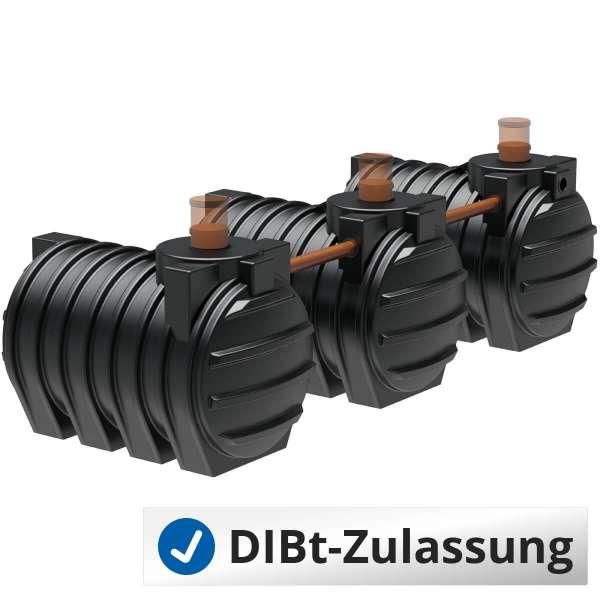 AQa.Line Abwassersystem 9000 L (mit DIBt-Zulassung) – grundwasserstabil