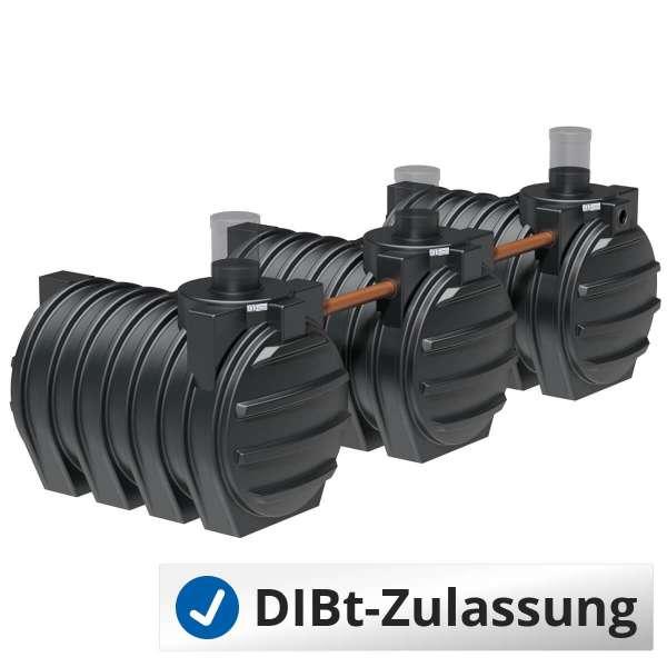Abwassersammelgrube AQa.Line 9000 L (mit DIBt-Zulassung) – grundwasserstabil