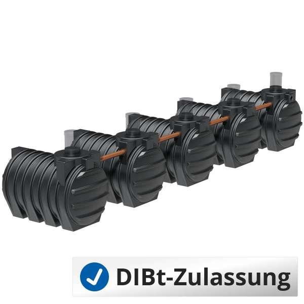 Abwassersammelgrube AQa.Line 15000 L (mit DIBt-Zulassung) – grundwasserstabil