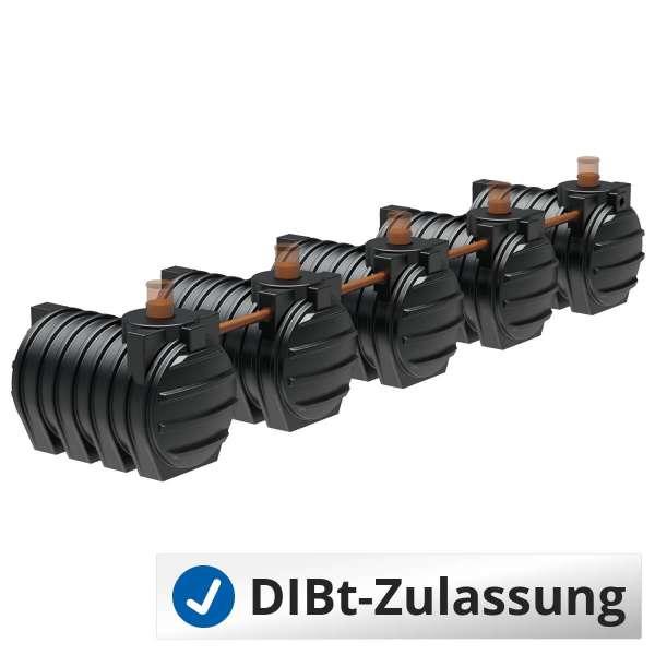 AQa.Line Abwassersystem 15000 L (mit DIBt-Zulassung) – grundwasserstabil