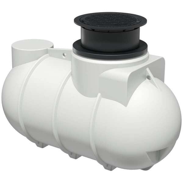 AQa.Line Trinkwasser-Erdtank 2000L inkl. Abdeckung