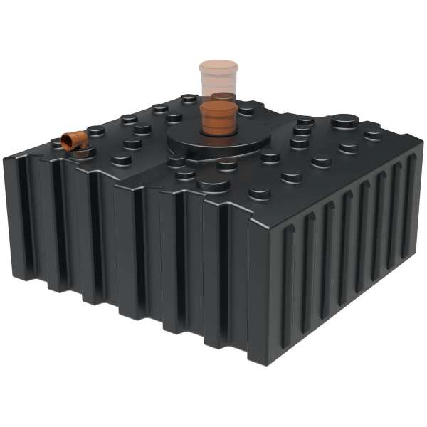 AQa.Line Abwasserflachtank 5000 L