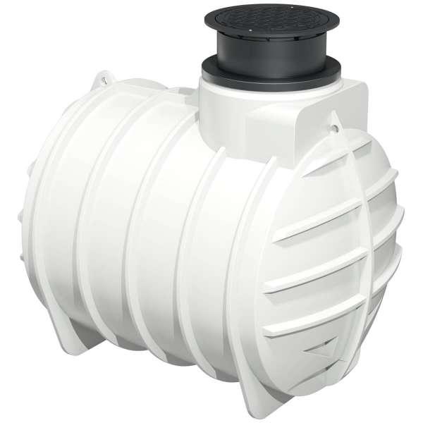 AQa.Line Trinkwasser-Erdtank 4450L inkl. Abdeckung
