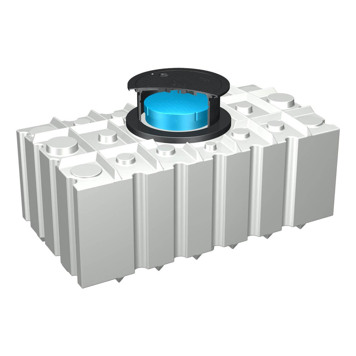 trinkwasser flachtank gftw 2000 l trinkwasser zisternexxl. Black Bedroom Furniture Sets. Home Design Ideas