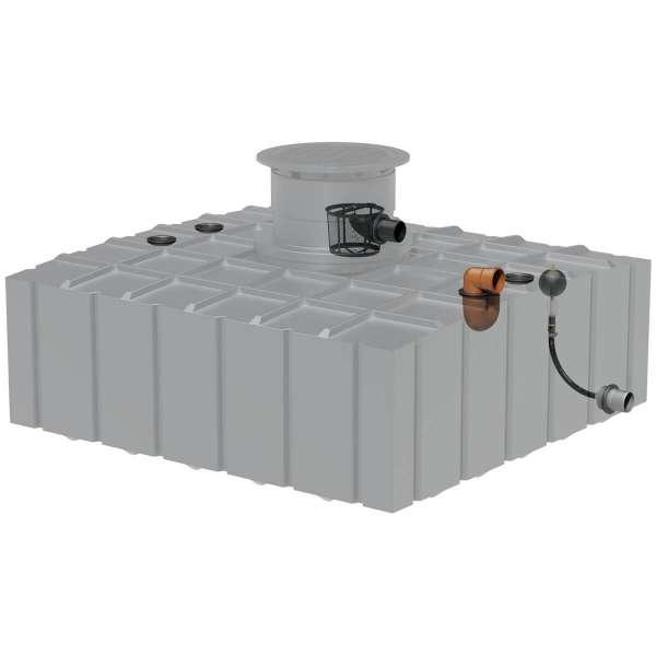 AQa.Line Retentionszisterne Flachtank 4150 L inkl. Abdeckung