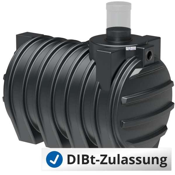 Abwassersammelgrube AQa.Line 3000 L (mit DIBt-Zulassung) – grundwasserstabil