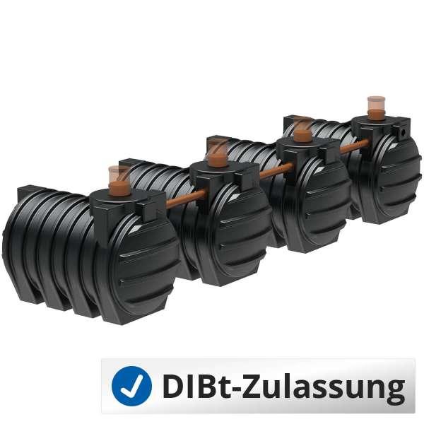 AQa.Line Abwassersystem 12000 L (mit DIBt-Zulassung) – grundwasserstabil