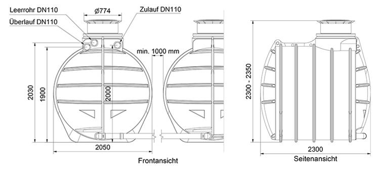 Technische Details AQa.Line 12000L