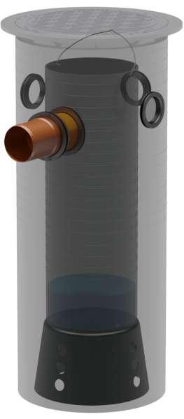 Sedimentations- und Filterschacht SF 500