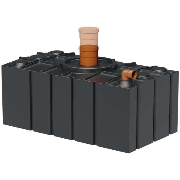 AQa.Line Abwasserflachtank 2000 L